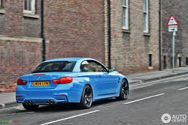 2015 bmw m3 convertible f83 bmw m4 convertible looks great in yas marina blue photo bmw