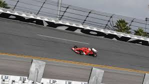 ferrari prototype f1 f1 car hits the banks at daytona for first time