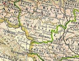 russia map before partition the germans from volhynia and russian poland