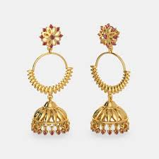 detachable earrings buy gold detachable earring designs online in india 2018 bluestone