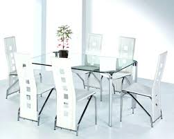 glass dining room tables and chairs best of glass dining table minimalist glass dining room table