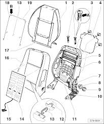 skoda workshop manuals u003e octavia mk1 u003e body u003e body work u003e seat