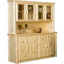 northwoods log buffet hutch viking log furniture the log