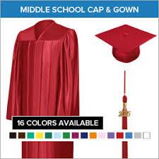 graduation packages middle school graduation cap and gown packages gradshop