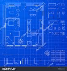 floor plan blueprint floorplan stock vectors vector clip detailed