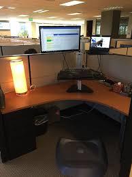Standing Desk For Cubicle Review Ergo Desktop Hybrid Kangaroo Standing Desk Emilybinder Com