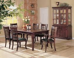 Dining Room Set With China Cabinet by Coaster Fine Furniture 100500 100502 100503 Newhouse Rectangular