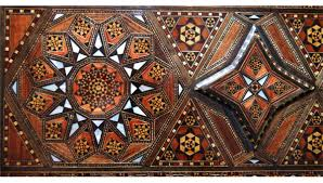 Morroco Style by Moroccan Style Inlaid U0026 Marquetry Flip Top Table