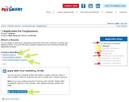 Sample Of Resume For Job Application by Petsmart Application U0026 Career Guide Job Application Review