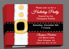 christmas party invitation template christmas party invitation printable or printed with free