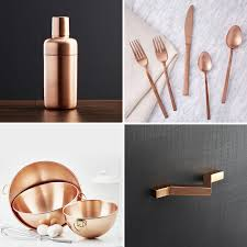 Design For Copper Flatware Ideas Kitchen Decor Ideas 12 Ways To Add Copper To Your Kitchen