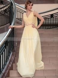 wedding dresses goddess style goddess style shirred prom dress with beaded applique and dumping back