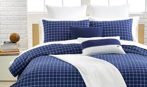 Best Bedding Material Bedding Set Navy Blue Bedspread Queen Cotton Polyester Fill