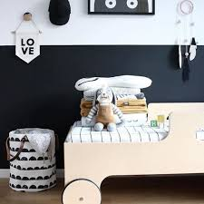 Modern Black And White Bedroom Toutou Is So Cool Look At Him Chillin In His Modern Black And