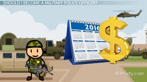 become a military police officer education and career roadmap