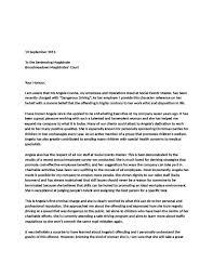 character reference letter for court court character reference
