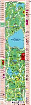 detailed map of new york central park map is a must for nyc wedding hotel goodie bags
