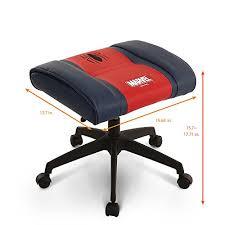 Licensed Marvel Premium Ottoman Foot Rest Seat Stool  Height