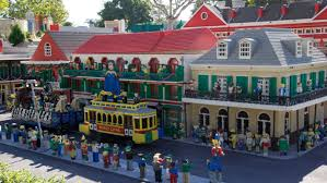 Tourist Map Of New Orleans by New Orleans Lego City Model Legoland California Resort