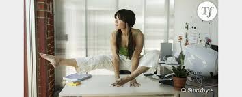 faire du sport au bureau faire du sport au bureau 5 exercices à pratiquer devant l