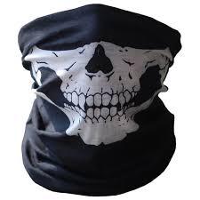 scary masks skull party black mask neck scary masks motorcycle bicycle