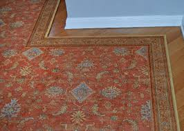 Shaped Area Rugs Bordered Area Rug With Custom Shape Kashian Bros Carpet And Flooring