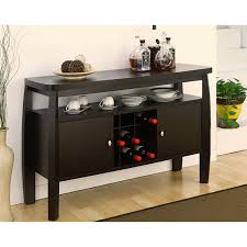 Console Bar Table by Amazon Com Furniture Of America Zarina Dark Espresso Buffet Table