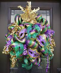 mardi gras mesh mardi gras wreath tuesday wreath deco mesh wreaths mardi