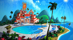 the bugs bunny and tweety show casa de calma location the looney tunes show wiki fandom