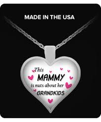 grandkids necklace this mammy is nuts about grandkids necklace