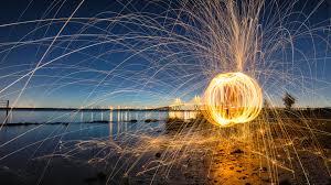 photography fireworks bridge hd 4k ultrahd