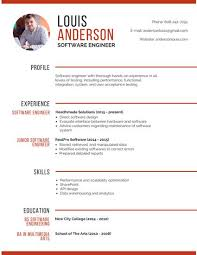 Software Engineering Resume Pleasurable Resume With Photo 15 Professional Software Engineer
