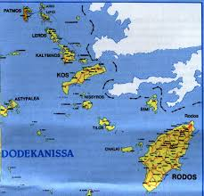 Greece Islands Map by Dodecanese Islands Greekislandsinfo U0027s Blog
