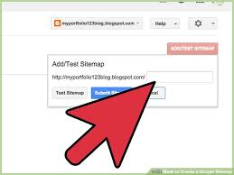 how to create a google sitemap with pictures wikihow