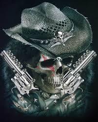 cowboy skull search tattoos