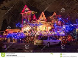 christmas lights festival opening in the victorian belle portland