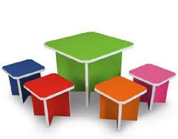 tavolo sedia bimbi per bambini tavolino e sedie realizzati con carta riciclata