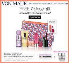 Von Maur Clinique Gifts With Purchase At Von Maur Makeupbonuses Com