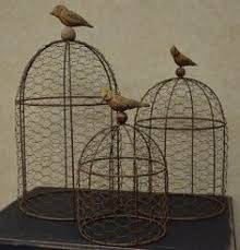 Chicken Wire Chandelier Chickenwire Birdcage Great For Decor I Would Love To See This