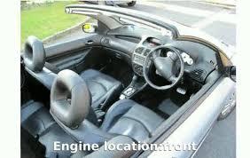 2002 peugeot 206 cc automatic features pumplove specs youtube