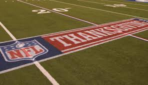 what time thanksgiving football start end tv schedule
