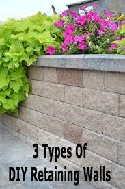marvelous decoration easy retaining wall beautiful diy garden