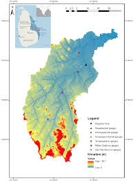 Map Of Sri Lanka Location Map Of Mundeni Aru River Basin In The Eastern Province Of