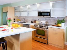 Glass Kitchen Cabinets Doors by Choose Glass Kitchen Cabinet Doors Modern Kitchen 2017