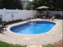 swimming pool round swimming pool design with travertine tiles