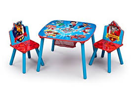 childrens table and chair set with storage amazon com delta children table and chair set with storage nick jr