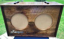 Soldano 2x12 Cabinet Weber Speaker Guitar Amplifiers Ebay