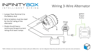 1 wire alternator diagram u0026 3 wire alternator wiring diagram