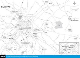Charlotte Map Printable Travel Maps Of North Carolina Moon Travel Guides