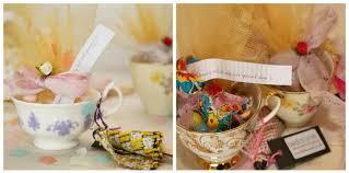 tea cup favors vintage teacup wedding favours